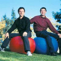 Larry Page & Sergey Brin Photo